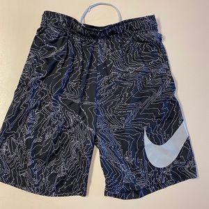 Nike Black & White Basketball Shorts